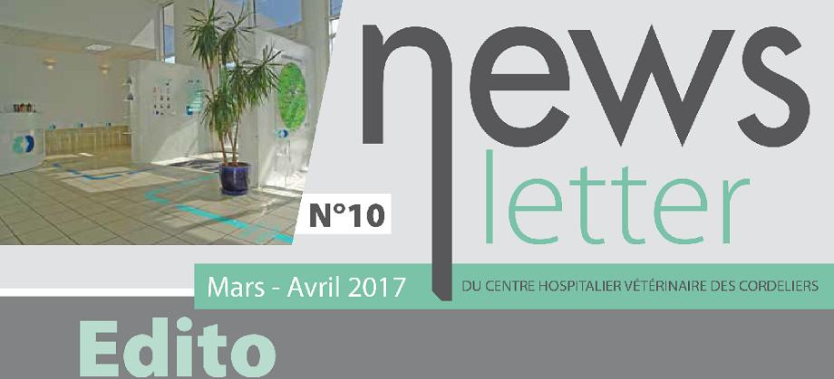 actualit s du chv des cordeliers mars avril 2017 centre hospitalier clinique v t rinaire. Black Bedroom Furniture Sets. Home Design Ideas